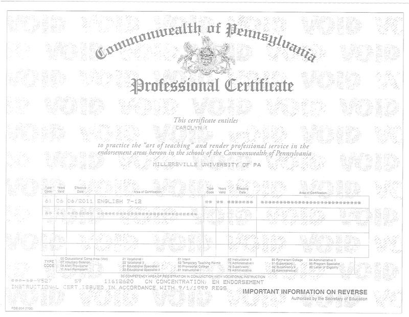 Art of Teaching Professional Certificate
