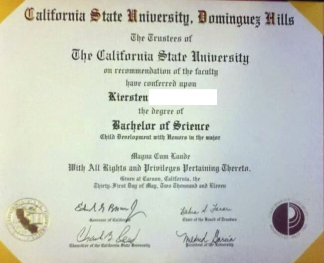 Bachelor`s Degree in Child Development