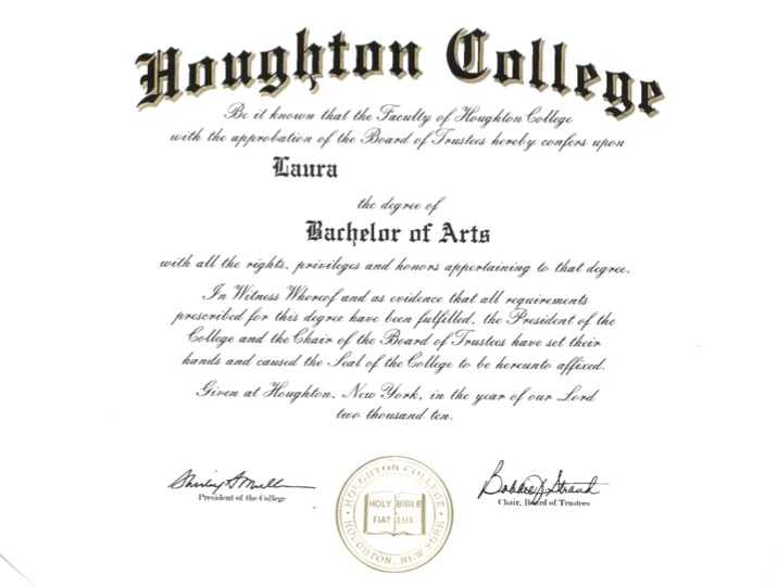 Bachelor of Arts Diploma