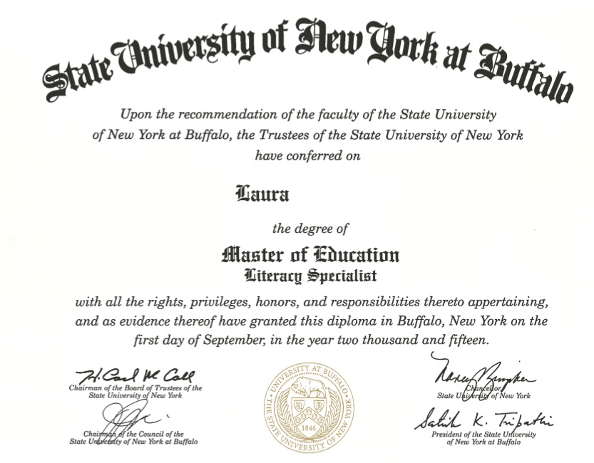 Master of Education Diploma