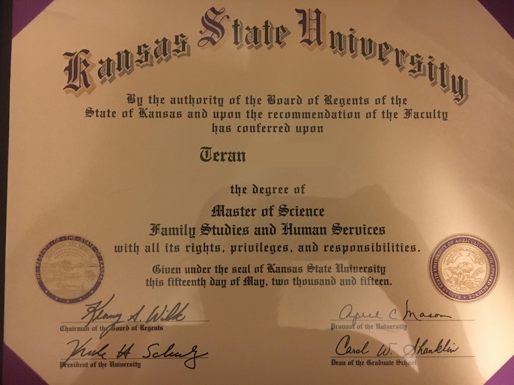 Master of Science in Family Studies